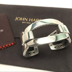 JOHN HARDY .925 Modern Chain Cuff Bracelet